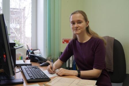 Начальник отдела - Балыбердина Полина Александровна