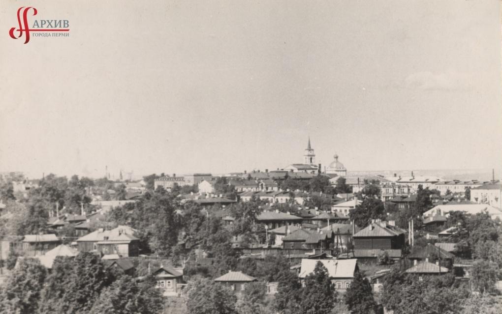 Панорама Разгуляя. Художественная галерея. 4 августа 1963.