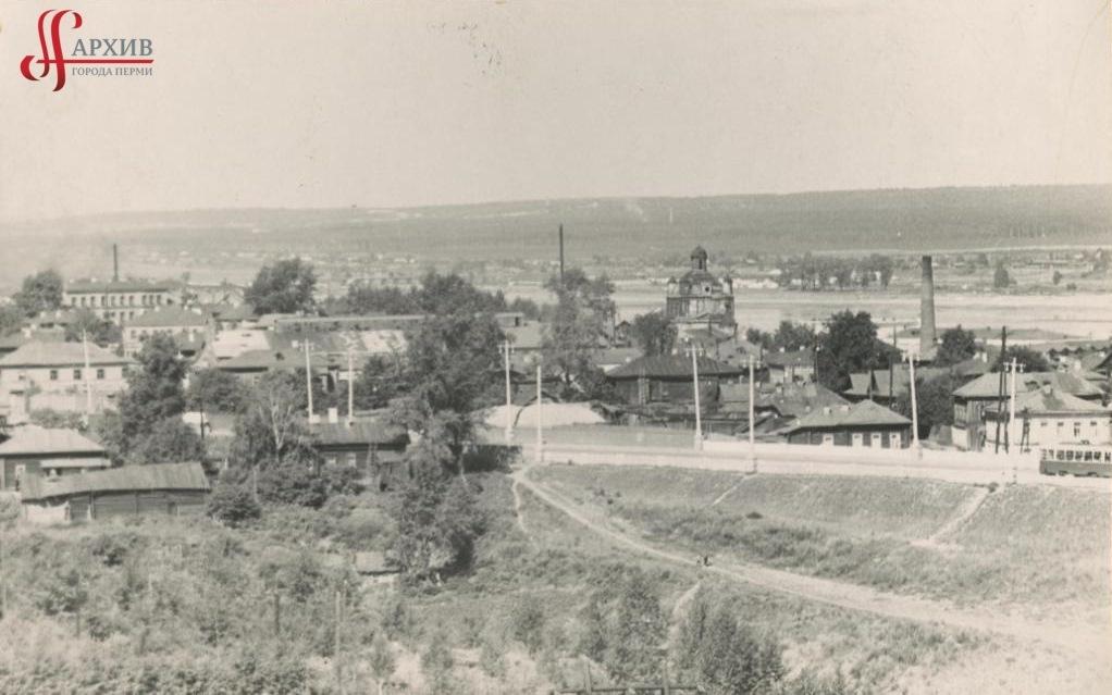 Панорама Разгуляя. Петропавловский собор. 4 августа 1963.