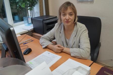 Начальник отдела - Зырянова Ксения Сергеевна