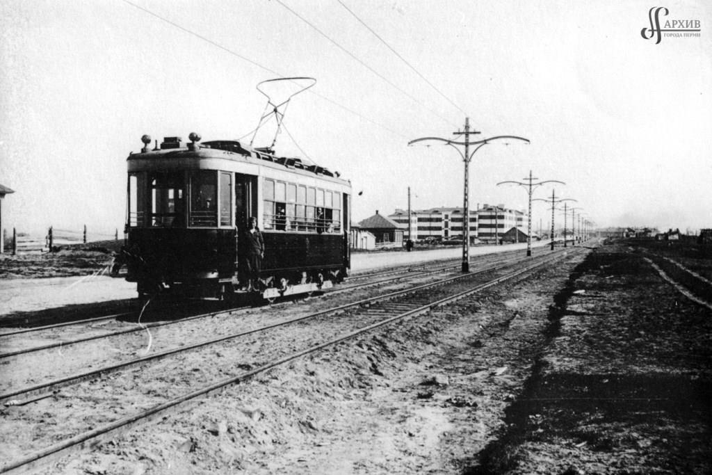 90 лет пермскому трамваю