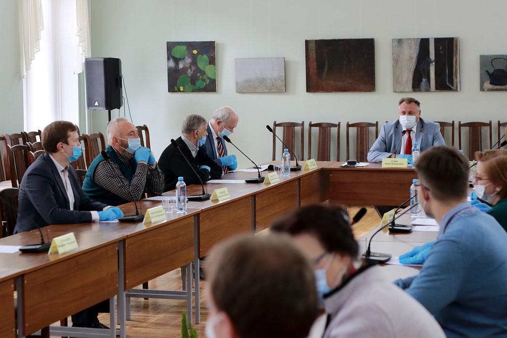 Заседание оргкомитета V городского исторического Форума.