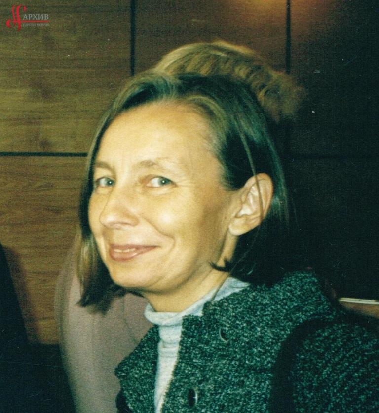 Н.С. Бочкарева. Портрет. 2003. АГП. Ф. 1411. Оп. 2. Д. 2. Л. 1.